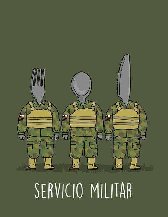 Todos unos Militares