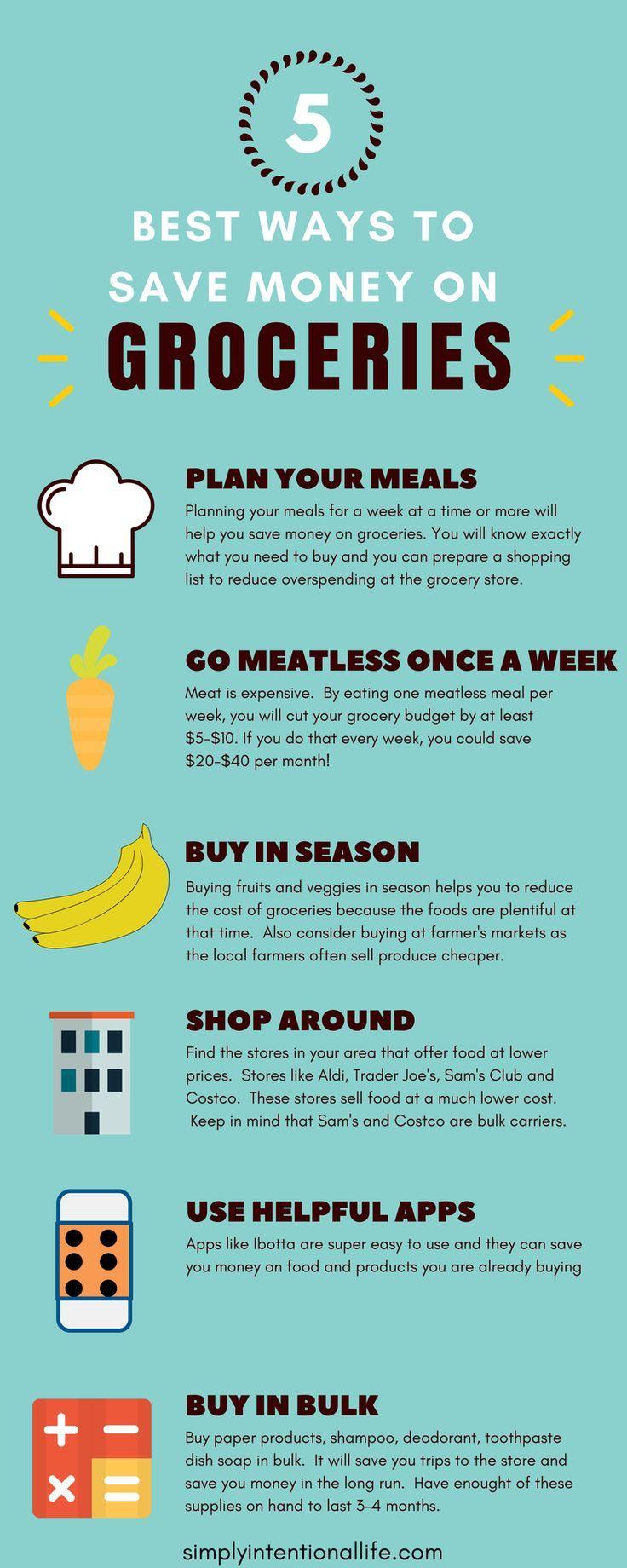Dies sind die besten Tipps, um Geld auf Ihrer Lebensmittelrechnung zu sparen! Ich habe sie benutzt und war …   – Save money