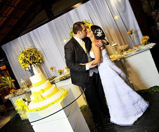 Un matrimonio brasiliano in giallo: Alessandra e Fabrizio | Wedding Wonderland