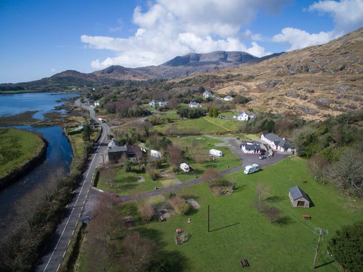 Hungry Hill Lodge & Campsite, Adrigole, Co Cork, Beara Peninsula. Ireland. Camping. Caravanning. Touring Site. Family Friendly.