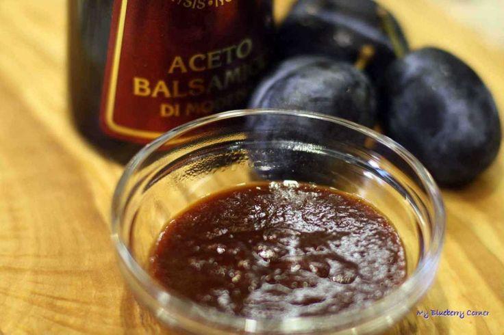Wytrawny sos śliwkowy - My Blueberry Corner