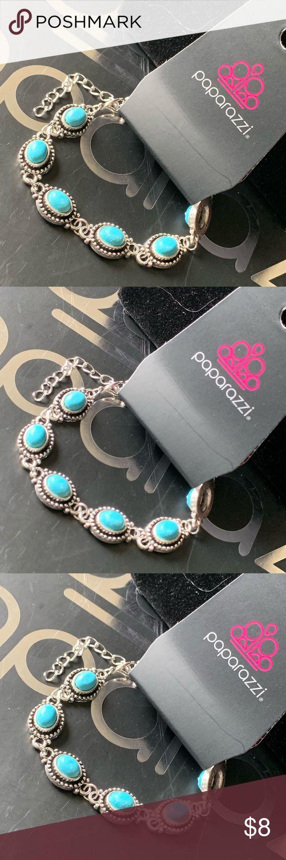 Paparazzi Bracelet Rocky Mountain Ranger Blue Bracelet