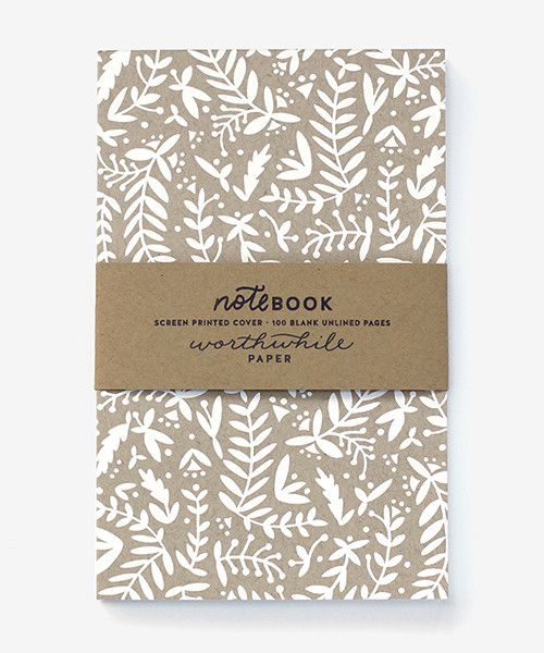 Notebook  |  Kraft Nature
