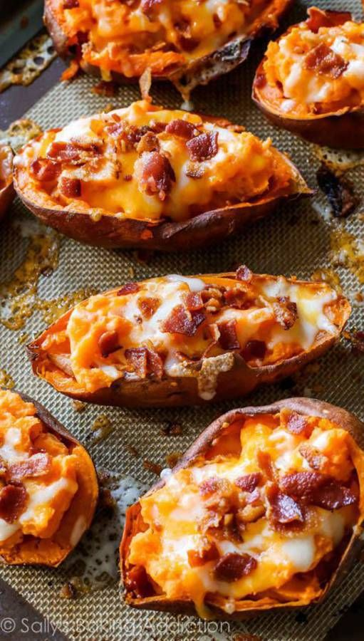 Patates douces au fromage / Notre carnet de comfort food d'automne