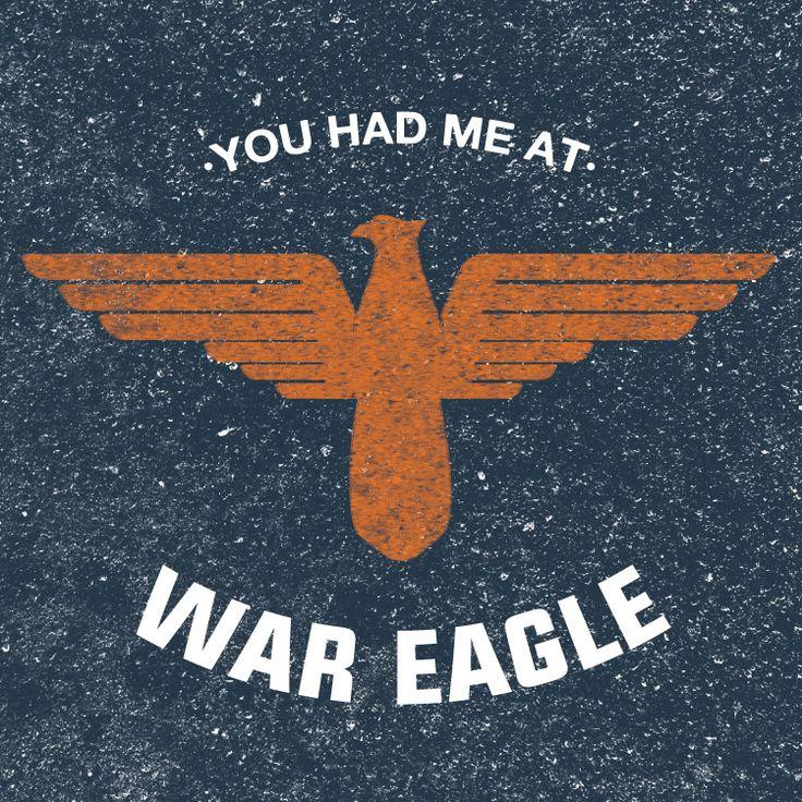 You had me at War Eagle! #AuburnValentines