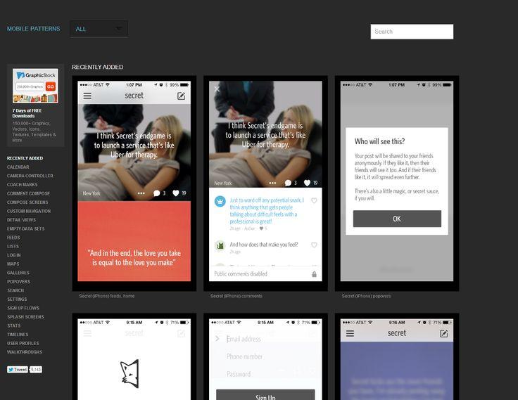 모바일 앱 디자인을 위한 벤치마킹 사이트 모음 — Medium