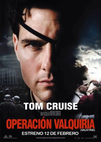 Original title: Valkyrie  Address: Bryan Singer  Screenplay: Christopher McQuarrie and Nathan Alexander  Cast: Tom Cruise, Kenneth Branagh, Bill Nighy and Tom Wilkinson  Producer: Gilbert Adler, Bryan Singer and Christopher McQuarrie  Company: United Artists / Achte Babelsberg Film / Bad Hat Harry Productions  Genre: Action