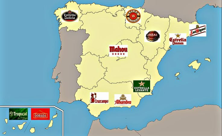 Destinos con Historia: Las cervezas españolas mas vendidas.