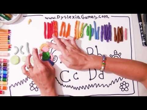 """Dyslexia Games """"Art & Logic"""" 12 Therapy Videos. See our 12 Fonts 4 Dyslexia at http://www.fonts4dyslexia.com/"""