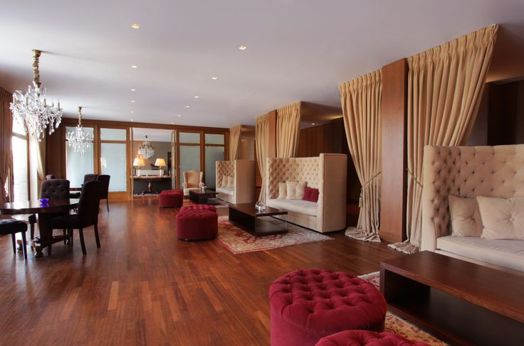 "5 star hotel ""du lac"" / Ioannina - Greece /  sitting area  / interior designer Sissy Raptopoulou"