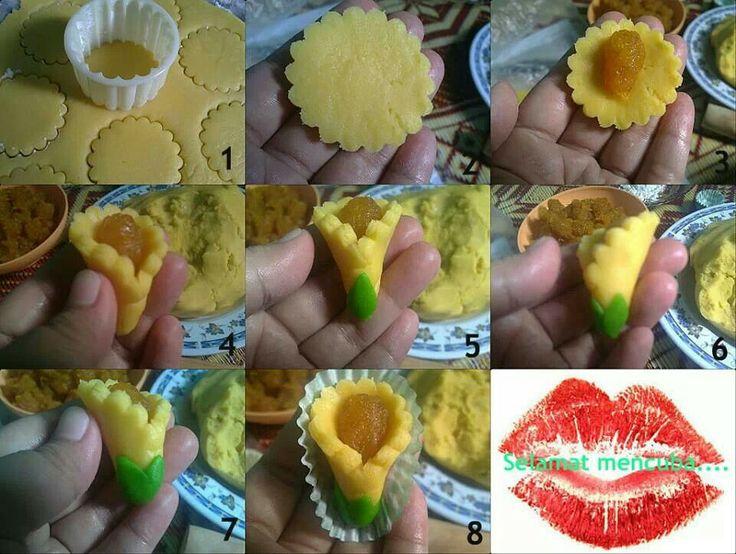 Tulip tart...step by step