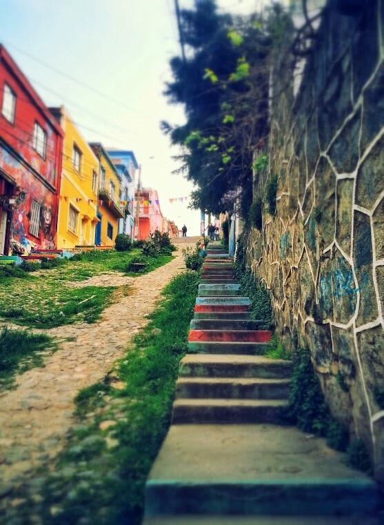 Valparaíso's stairs.