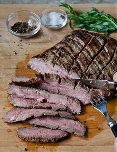 Barefoot Contessa - Recipes - Mustard-Marinated Flank Steak