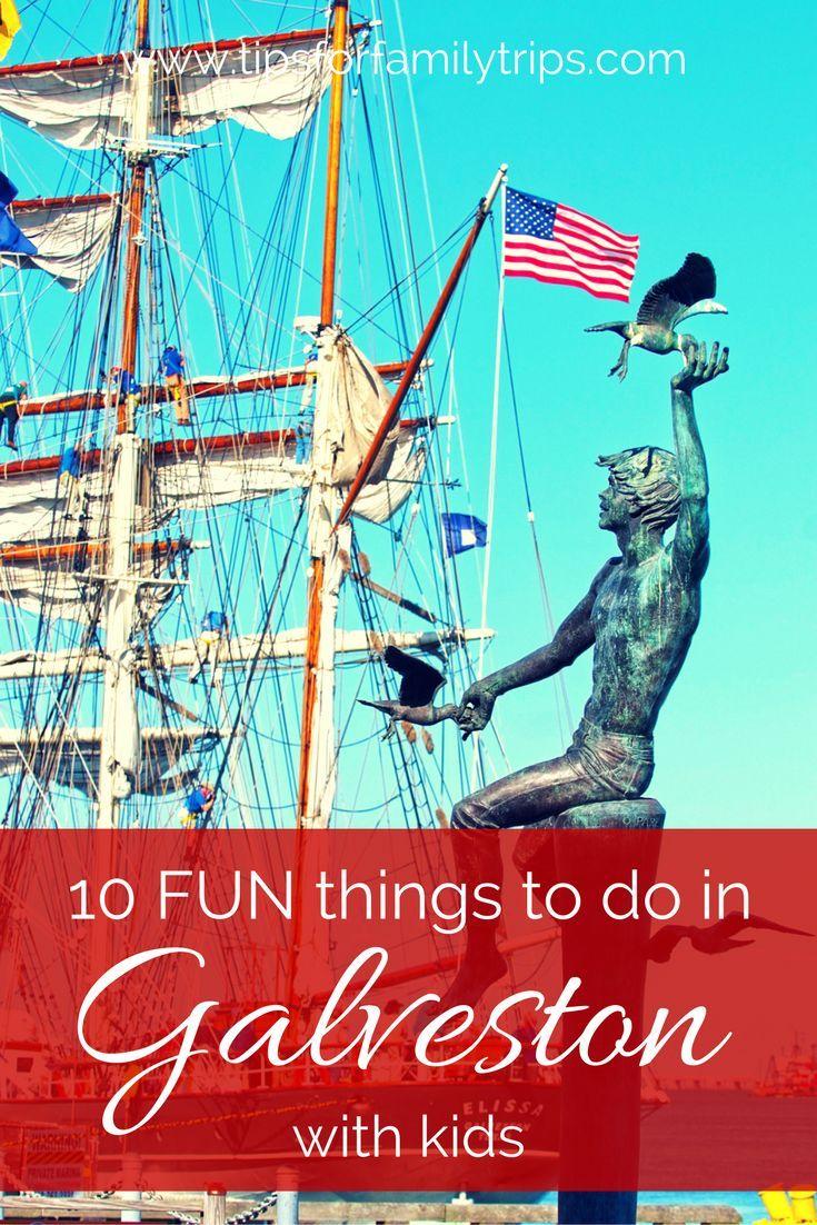 10 fun things to do in Galveston, Texas with kids   tipsforfamilytrips.com   cruise   galveston tx   galveston attractions   galveston activities   summer vacation   spring break  Galveston Island
