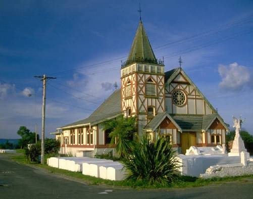 Tips On Planning a Holiday Trip to New Zealand = Maori Church on the shore of Lake Rotorua, New Zealand.