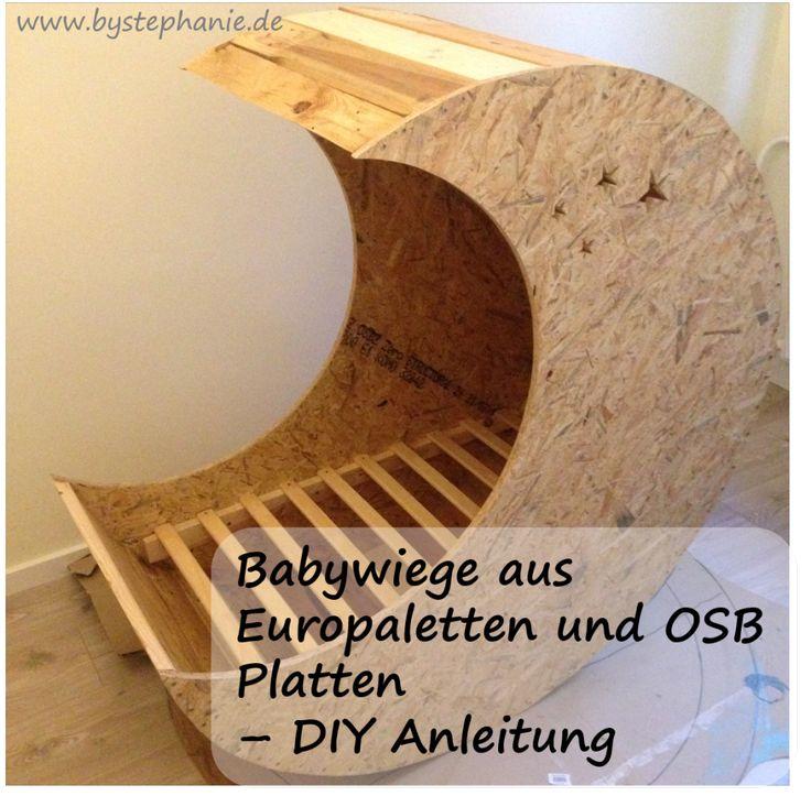 Babywiege DIY aus Europaletten