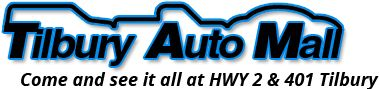 Tilbury Auto Mall has quality new & used Cars, used Trucks, used Vans and used SUVs for sale near Chatham-Kent, Windsor, London Ontario.
