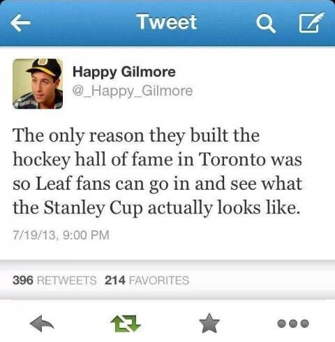 as much as i like the leafs, this is hysterical