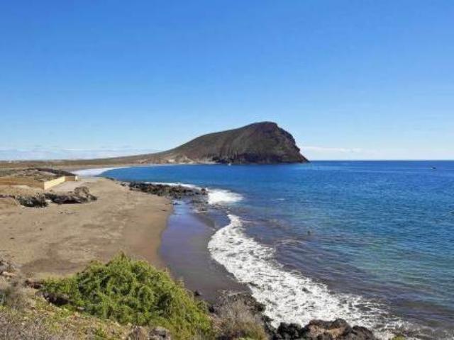 """#playa de arena """"La Tejita"""", en El Medano, #Tenerife"""