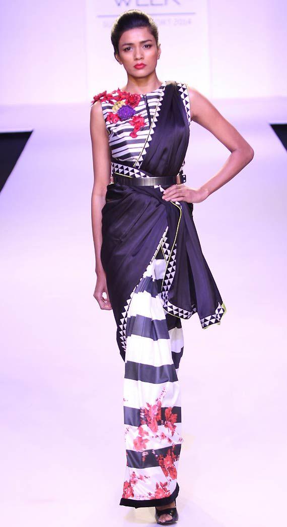Lakme Fashion Week 2014: Vijender Singh believes walking on ramp easier than boxing (see pics)