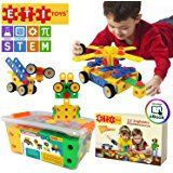 ETI Toys STEM Learning Original 90 Piece Educational Construction Engineering Building Blocks Set for 3 , 4 and 5+ Year Old Boys & Girls Creative Fun Kit Best Toy Gift for Kids Ages 3yr – 6yr