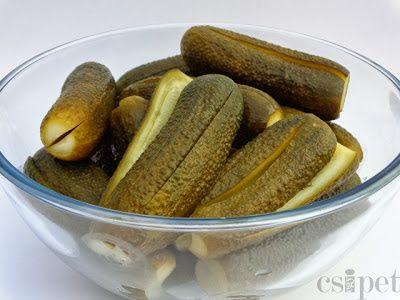 egycsipet: Kovászos uborka télre-nyárra
