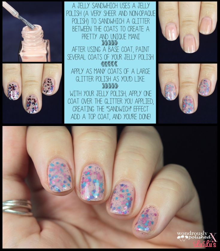 Mani Monday: Jelly Sandwich Nail Tutorial at LuLus.com!