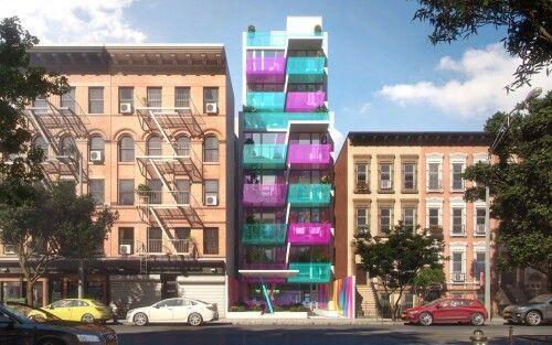 Karim Rashid for HAP-NY. ARCreative- 3d architectural renders