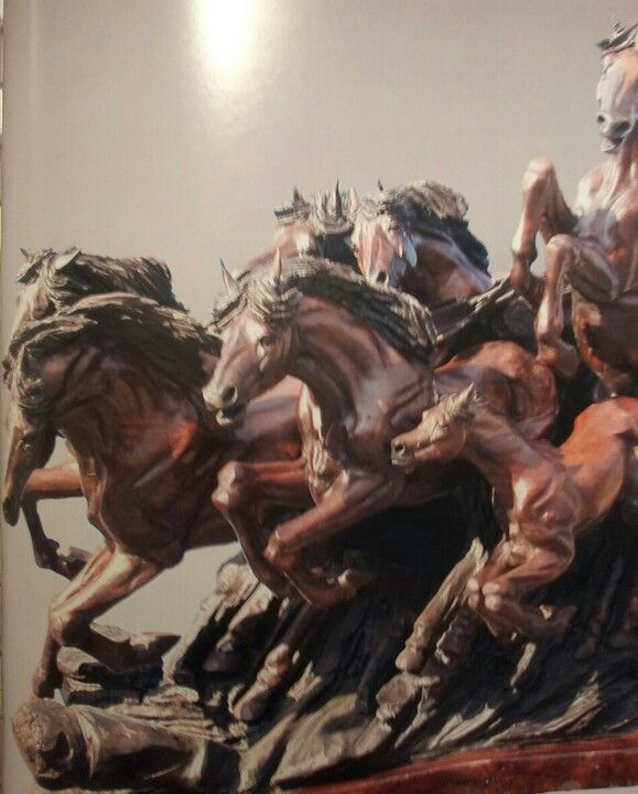 Quot equine thunder j chester armstrong chainsaw carver