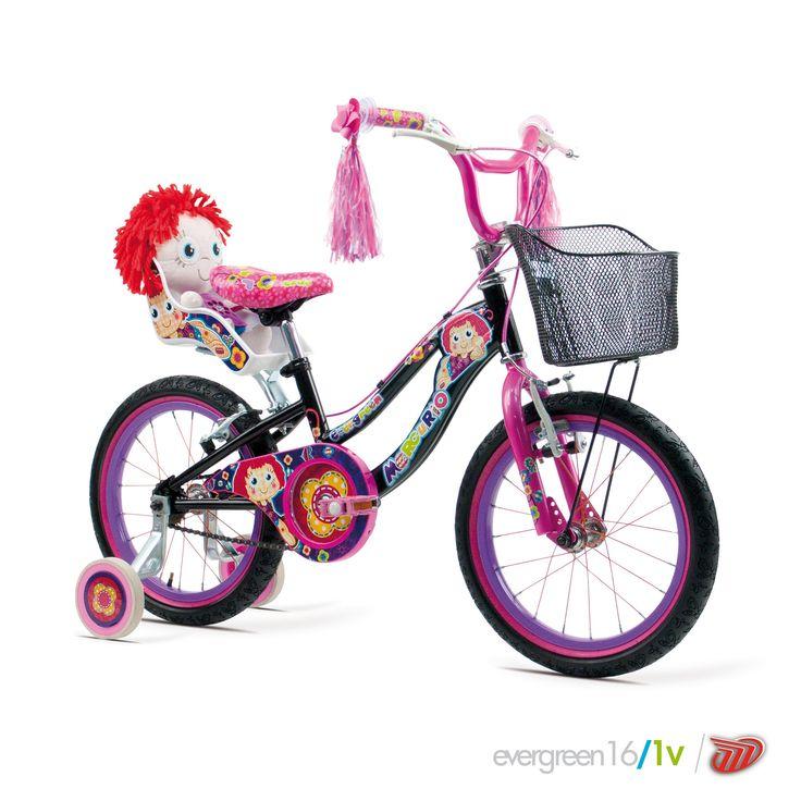 Bicicletas Mercurio Modelo Evergreen16 Bicicleta para niñas MTB/Recreación  #bikes #bicicletas #bicicletasmercurio https://www.facebook.com/BicicletasMercurio