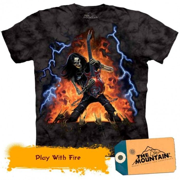 Tricouri The Mountain – Tricou Play With Fire