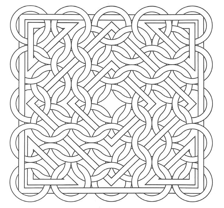 op art coloring pages - photo#33