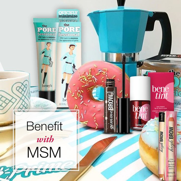 Claim your FREE Benefit product with your prepaid order of ₹2500/- and above Shop from: Msmbox.com