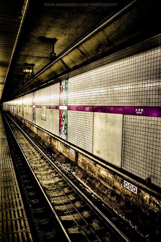 SCENERY/SUBWAY/UNDERGROUND/JAPAN/BRIAN DAWES PHOTOGRAPHY