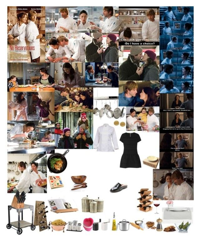 """""""No Reservations"""" by taught-to-fly19 on Polyvore featuring moda, Anolon, All-Clad, Crate and Barrel, Towle, LIST, The Cellar, VIP International, Chef Works e Vince Camuto"""