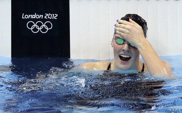 Missy Franklin wins gold