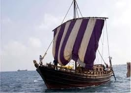 Phoenician ship (replica) - The Phoenicians were a people who occupied the coast of the Levant (eastern Mediterranean). Their major cities were Tyre, Sidon, Byblos, and Arwad. All were fiercely independent, rival cities and, unlike the neighboring inland states, the Phoenicians represented a confederation of maritime traders rather than a defined country. What the Phoenicians actually called themselves is unknown, though it may have been the ancient term Canaanite.