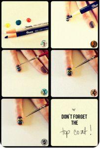 Sharpie Nail Art DIY