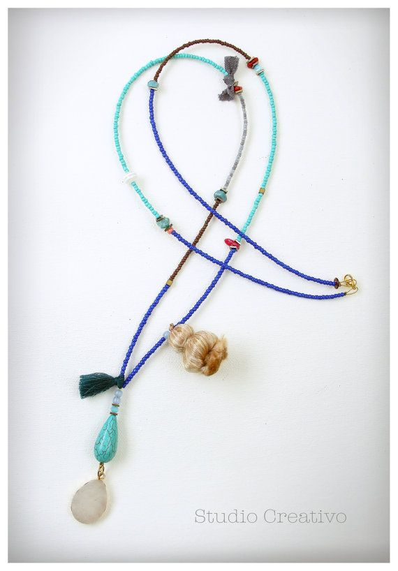 Boho Summer Collection - Necklace II, by Xanthippe - Studio Creativo
