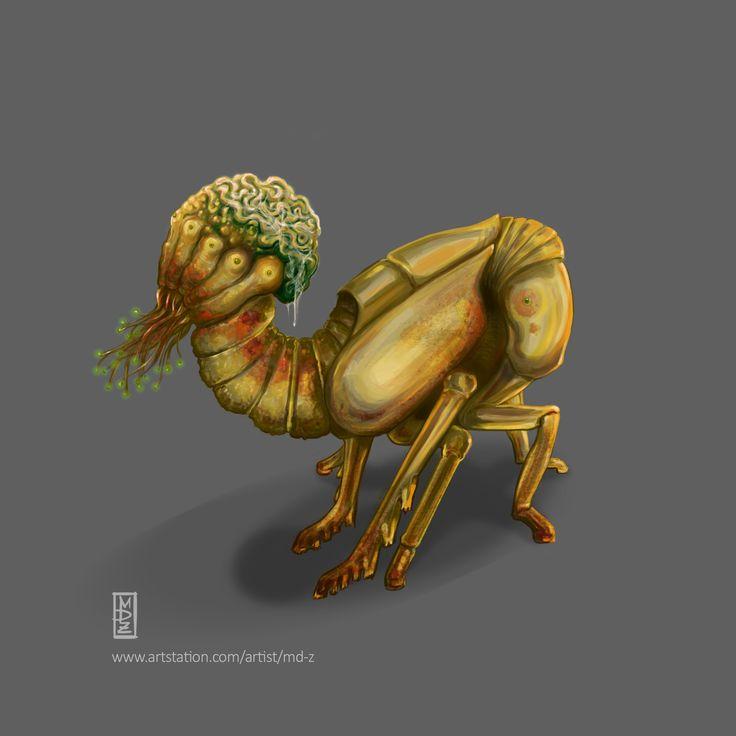https://www.artstation.com/artist/md-z  Various creatures - Biowars 2016