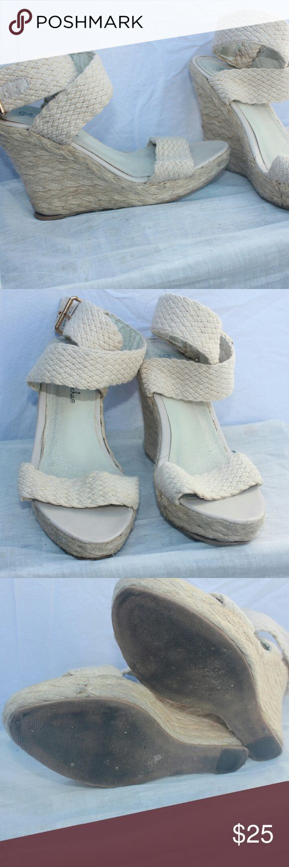 Gabriella Rocha wedges Good condition Gabriella Rocha Shoes Wedges