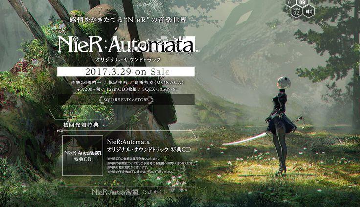Über den japanischen Square Enix Store werdet ihr ab dem 29. März den NieR: Automata OST erwerben können. Auf der offiziellen Webseite zum OSt gibt es eine Hörprobe.