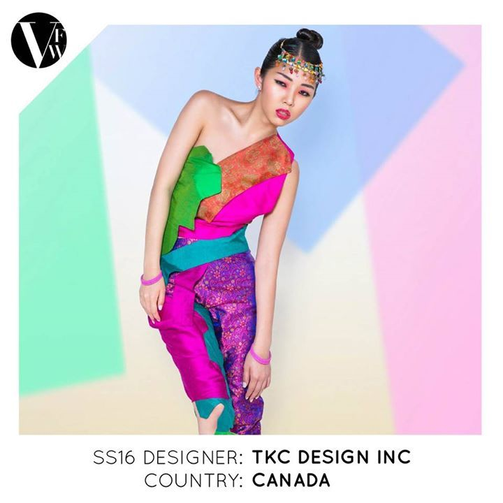 TKC Design Inc. is a brand that explores colour and vibrancy while proudly giving a voice to society. The company is owned by designer, Taranjit (Taran) Cheema, a Canadian-born designer, who has a strong eye for colours and graphics. See the designer's profile here: http://vanfashionweek.com/tkc-design-inc/