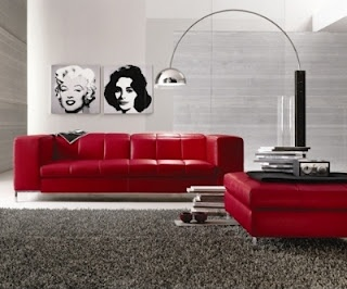 My Red Leather Couch Is In Storage Miss Miss. Red Living RoomsLiving Room  SetsFurniture ...