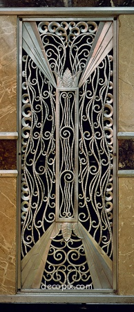 Decopix - The Art Deco Architecture Site - Art Deco Metalwork Gallery. @designerwallace