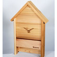 Cedar Bat Box - provide a safe habitat for bats in your garden. They eat lots of mosquitoes!