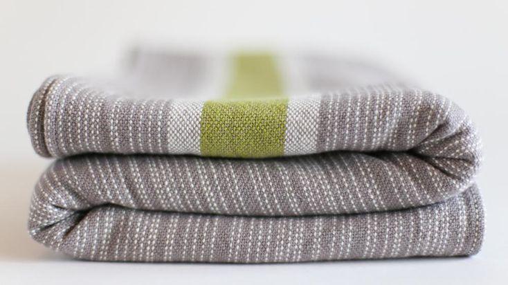 Uppymama small stripe Uppywear Grow Green Wrap str 6