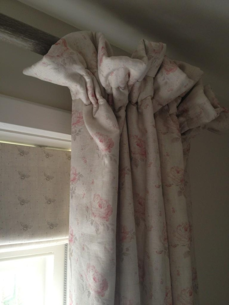 I Love This Frill Top Cottage Pleat Curtain For A Lovely