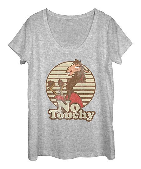 Fifth Sun Emperors New Groove No Touchy Tee - Women | zulily