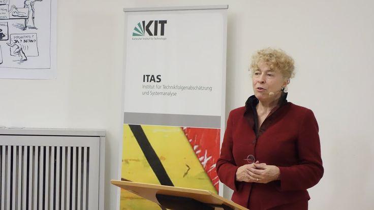 Gesine Schwan zur Energiewende #ITAS-Kolloquium